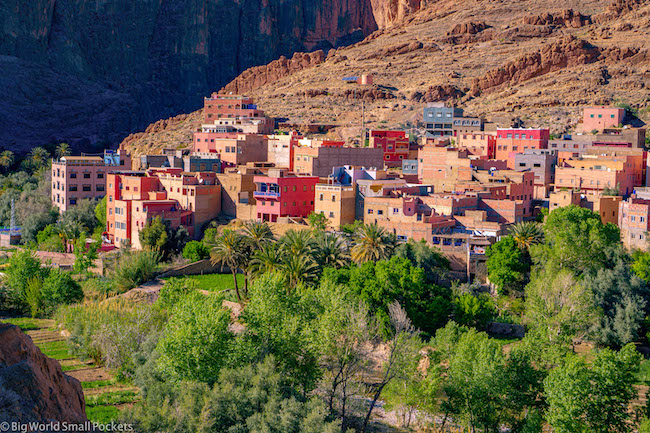 Morocco, Tinghir, Valley