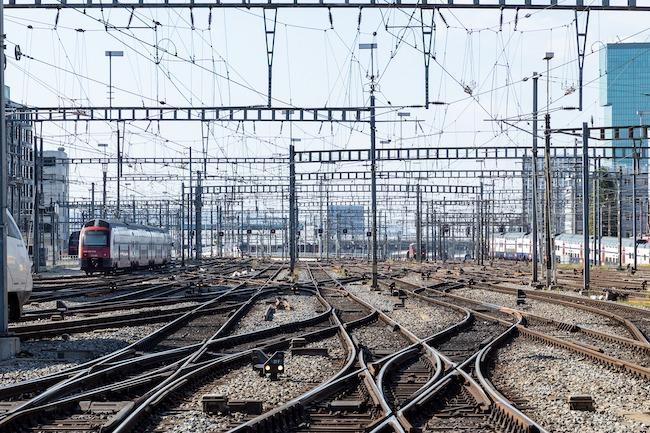 Switzerland, Zurich, Rails