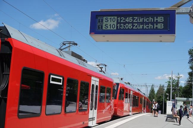 Switzerland, Zurich, Train
