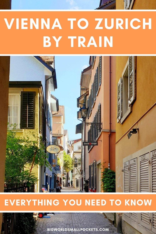 Vienna to Zurich By Train