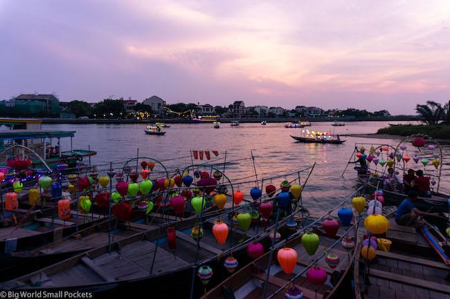 Vietnam, Hoi An, Night Lamps