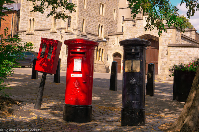 England, Windsor, Letter Box