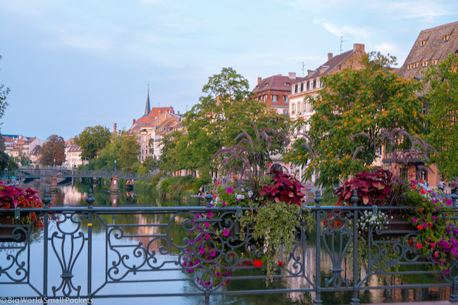 France, Strasbourg, Bridge