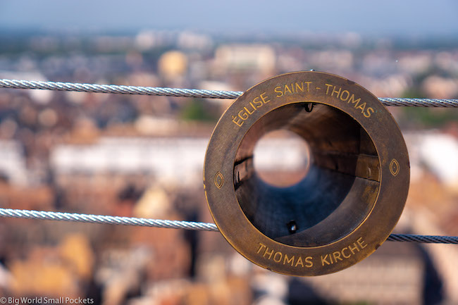 France, Strasbourg, Cathedral Lookout