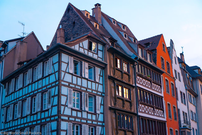 France, Strasbourg, Coloured Buidlings