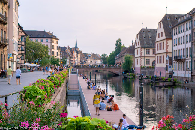 France, Strasbourg, River
