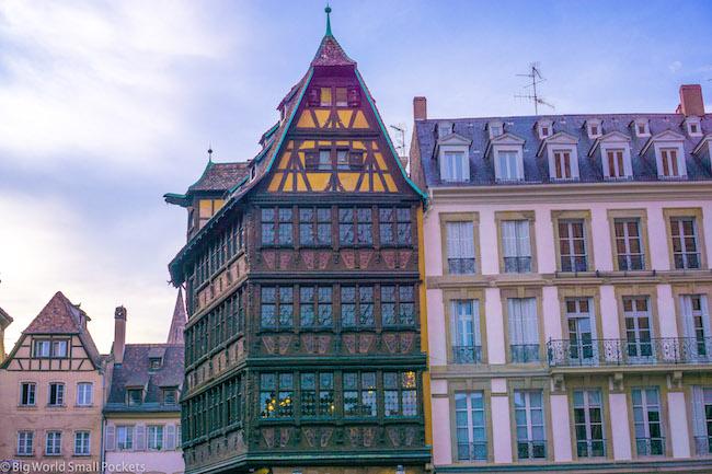 France, Strasbourg, Houses