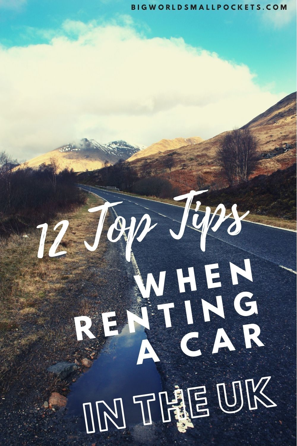 12 Top Tips for Car Rental in the UK