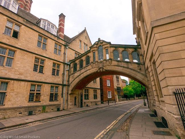 England, Oxford, Road