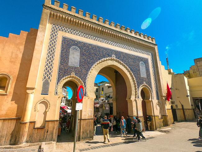 Fez, Medina, Blue Gate
