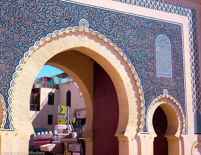 Morocco, Fez, Blue Gate