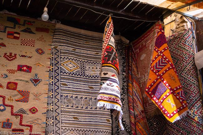 Morocco, Fez, Carpets