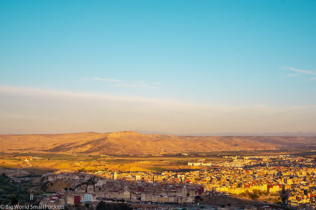 Morocco, Fez, Landscape