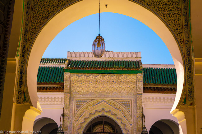 Morocco, Fez, Madrasa