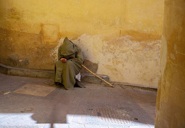 Morocco, Fez, Man