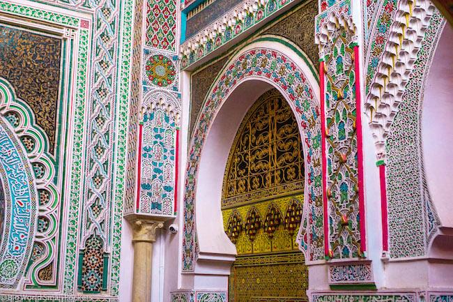 Morocco, Fez, Mosiac