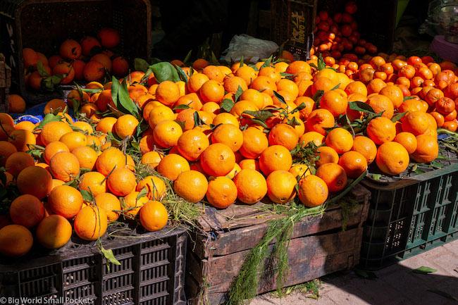 Morocco, Fez, Oranges