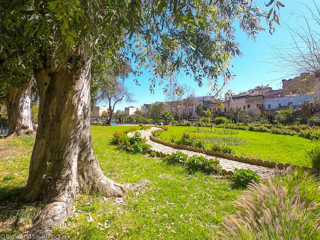 Morocco, Fez, Parc Boujloud