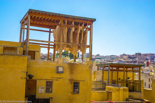 Morocco, Fez, Rooftop