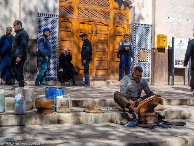 Morocco, Fez, Seffarine Square