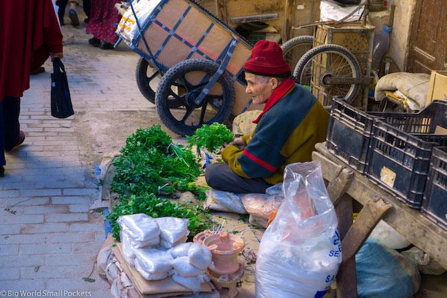 Morocco, Fez, Seller