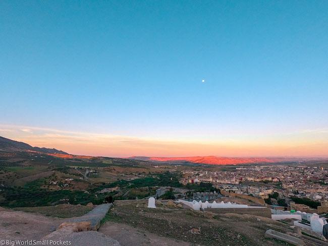 Morocco, Fez, Sunset