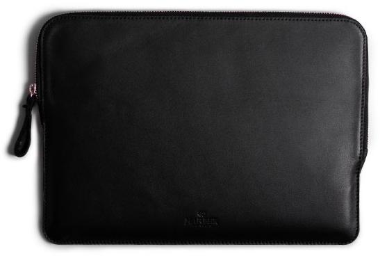 Slim, Leather, Laptop Case