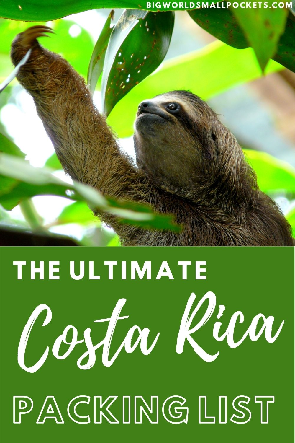The Complete Packing Guide for Costa Rica