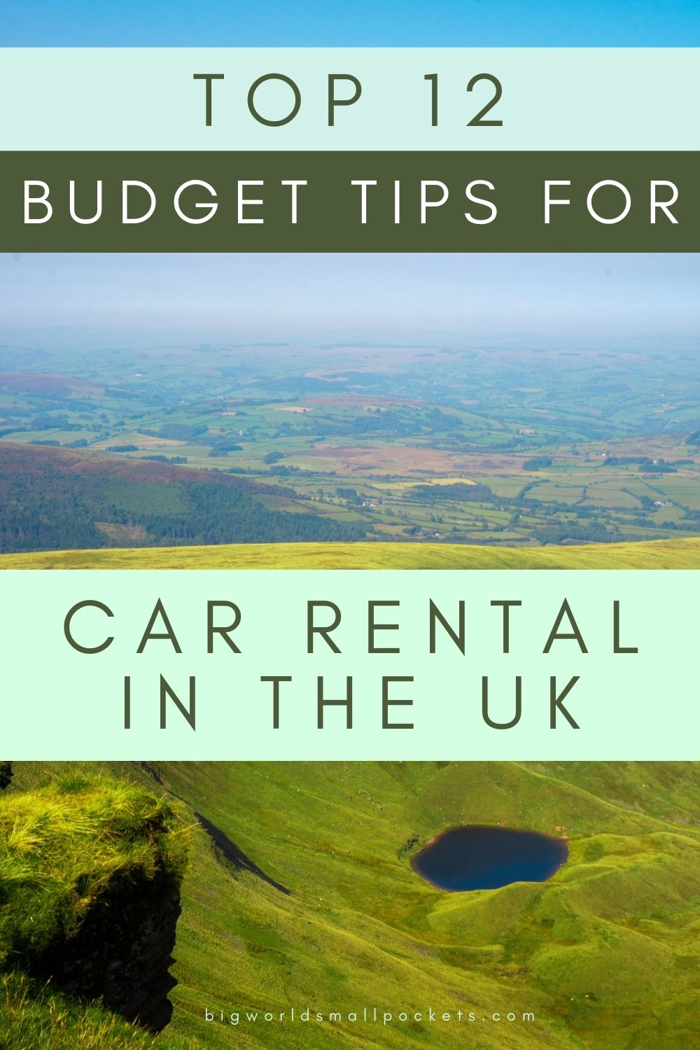Top 12 Budget Tips for Renting a Car in the UK
