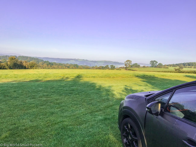 UK, Car Hire, View