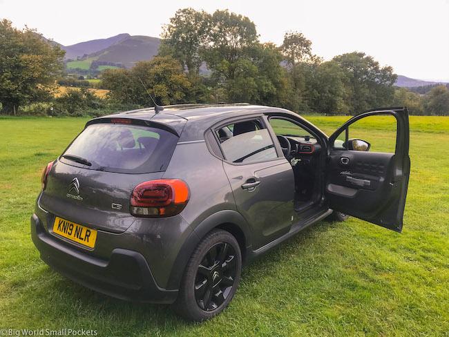 UK, Car Rental, Field