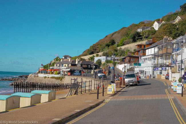 UK, Isle of Wight, Road