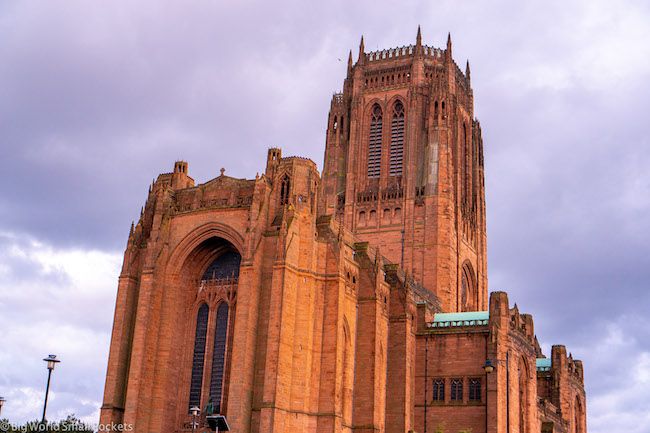 England, Liverpool, Cathedral