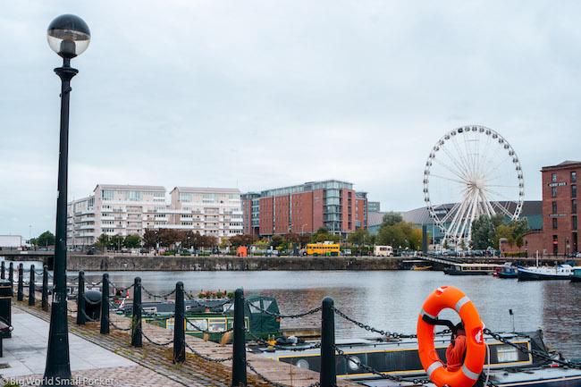 England, Liverpool, Dock