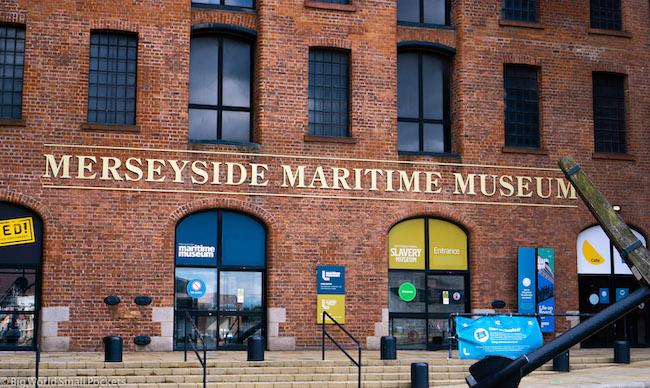 England, Liverpool, Maritime Museum