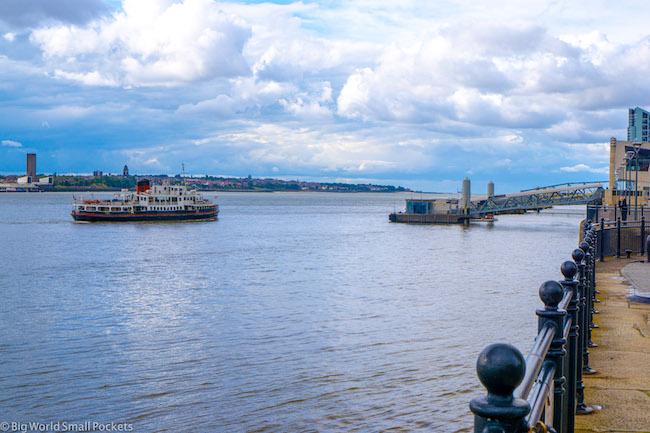 England, Liverpool, Mersey Ferry
