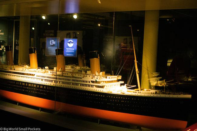 England, Liverpool, Titanic