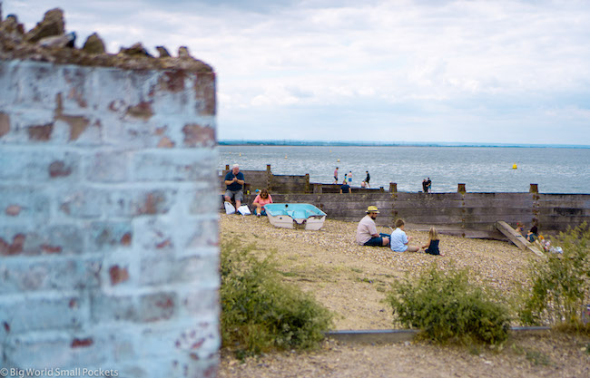 England, Whitstable, Beach