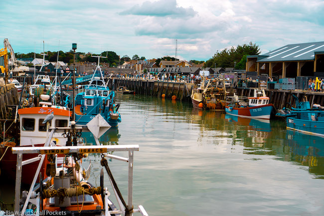 England, Whitstable, Harbour