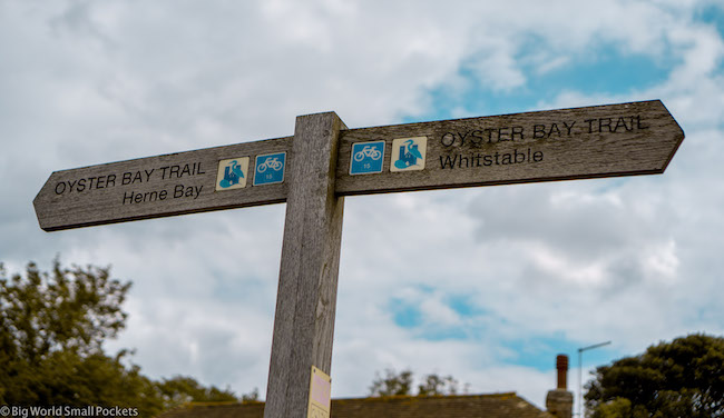 England, Whitstable, Oyster Bay Trail
