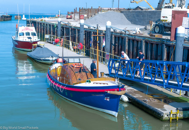 England, Whitstable, Vintage Lifeboat