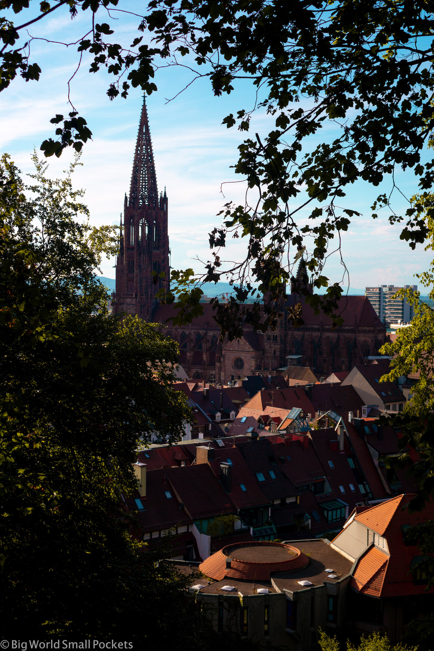 Germany, Freiburg, City & Cathedral Views