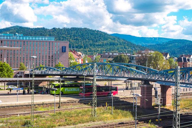 Germany, Freiburg, Flixbus