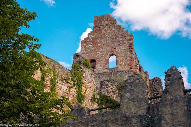 Germany, Freiburg, Hochburg Ruins