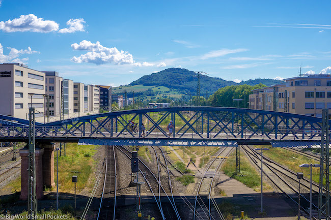 Germany, Freiburg, Railway