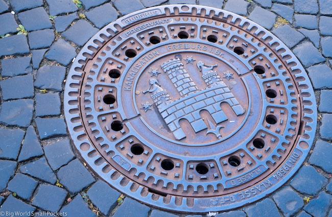 Germany, Freiburg, Street