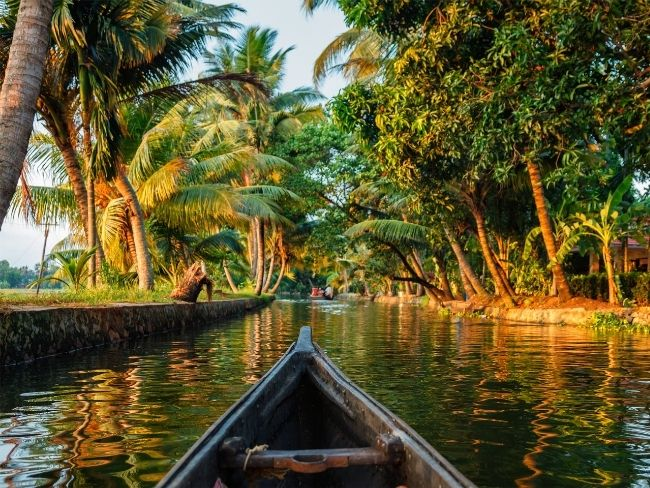 India, Kerala, Backwaters