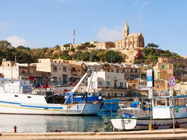 Malta, Gozo, Harbour