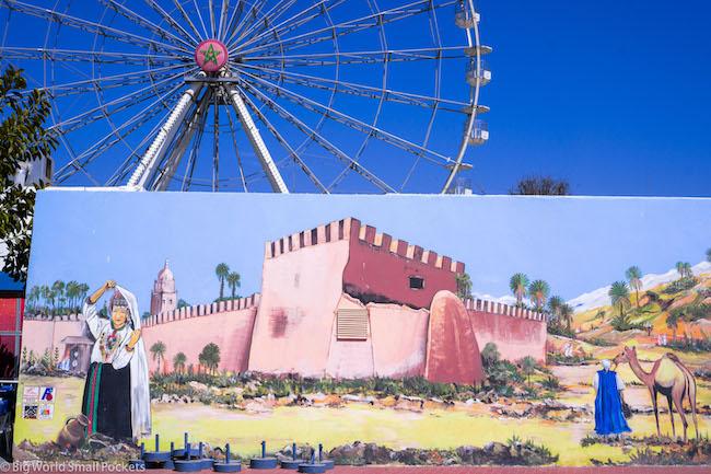 Morocco, Agadir, Mural