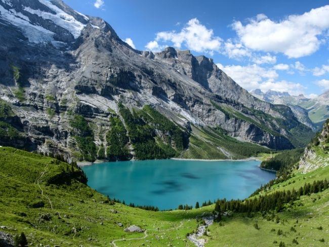 Switzerland, Alps, Lake